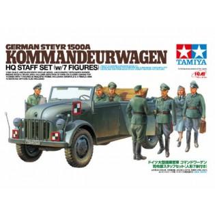 Steyr 1500A Kommandeurwagen w. 7 figures