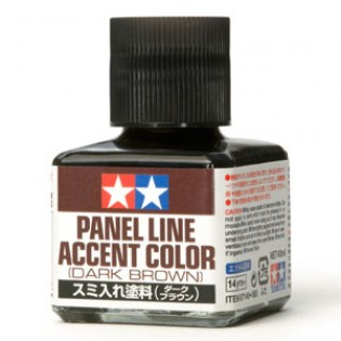 Panel Line Accent Color, Dark Brown 40ml