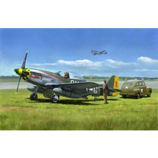 P-51D Mustang & US Army Staff Car
