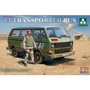 VW T3 Transporter bus w figure