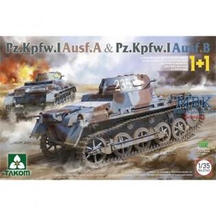 Pz.Kpfw. I Ausf. A & Pz.Kpfw. I Ausf. B 1+1