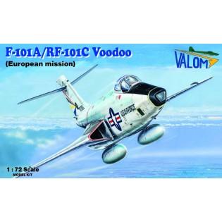 F-101A/RF-101C Voodoo (European mission)