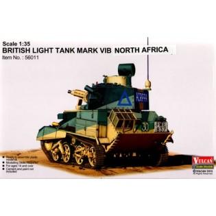 British Light Tank Mark VI B in North Africa