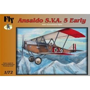 Ansaldo SVA.5 Early version